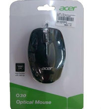 Acer AM08WB USB 2.0 Mouse,  black