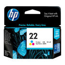 HP 22 Tricolor Ink Cartridge, multicolor