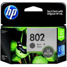 HP 802 Large Black Ink Cartridge,  black