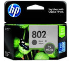 HP 802 Large Black Ink Cartridge (Black)