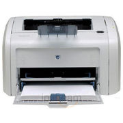 HP P-1020 Plus Laserjet Printer, whitenblack