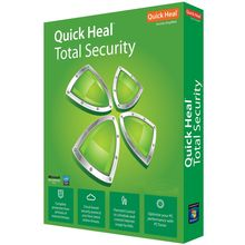 Quick Heal Total Security, 10 user, multicolor
