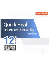 Quick Heal Internet Security Renewal Upgrade Pack, 1 year, 1 user