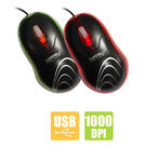 Zebronics M126 USB Optical Mouse, multicolor