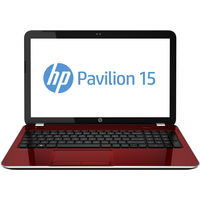 HP Pavilion 15-e018TX Laptop (3rd Gen Corei3/ 4GB/ 500GB/ 2GB Graph/ Win 8),  red
