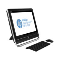 HP Pavilion TouchSmart 23-f201in All-in-One Desktop PC (ENERGY STAR) (H5Y57AA) (Intel Core i3-3240/ 4GB RAM/ 1TB HDD/ Win8/ NVIDIA GeForce GT 710A),  black