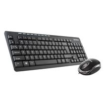 Intex DUO 314 Wired Keyboard Combo,  black