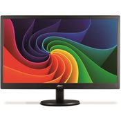 AOC E1670SWU 15.6 Inch LED Monitor,  black