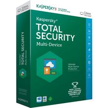 Kaspersky Total Security, 1 user, multicolor
