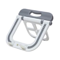 Lapcare Multifunctional Laptop Stand, white grey