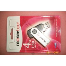 USB Drives swivel, 4 gb, multicolor