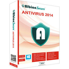 Albion Secure Anti Virus 2014, multicolor, 1 user