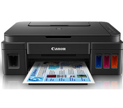 Canon Ink Tank G2002 All-In-One Printer, black