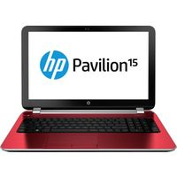 HP Pavilion 15-n210TX Laptop (3rd Gen Ci3/ 4GB/ 500GB/ Win 8.1/ 2GB Graph),  red