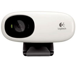 Logitech Webcam C110 (White)