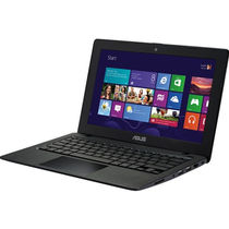 Asus F200MA Laptop 4th Gen Intel Pentium Quad Core/ 2GB RAM/ 500GB HDD/ Windows 8.1, (KX131H),  black