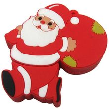 Smiledrive Santa Claus Shaped USB Pendrive, 16 gb, multicolor