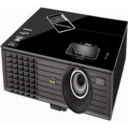 ViewSonic HDMI DLP Projector with Crestron e-Control (PJD 6553w), black