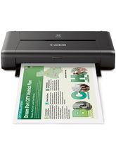 CANON PIXMA iP110 Wireless Mobile Printer With Airprint(TM) And Cloud Compatible, black