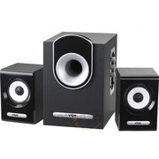 Vox 2.1 Channel MultiMedia Speaker System with Sound Balance Technology,  black