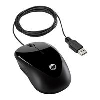 HP X1000 Wired Optical Mouse (H2C21AA)