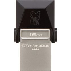 Kingston DT microDuo USB 3.0 OTG Pen Drive,  black, 16 gb