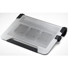 Cooler Master Notepal U3 PLUS Movable Fan Aluminum Cooling Pad, multicolor