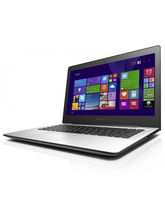 Lenovo U41-70 Notebook (80JV00HKIN) (5th Gen- Ci3/ 4GB RAM/ 1TB+ 8GB SSD/ Win 8.1), silver