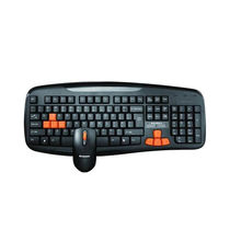 Lenovo KM4801U USB 2.0 Keyboard and Mouse Combo,  black
