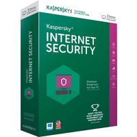 Kaspersky Internet Security Latest Version, 1year, 3 users, multicolor