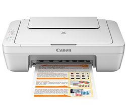 Canon PIXMA MG2570 Printer, white