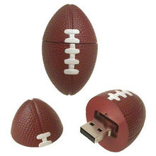 Microware Rugby Football Shape Designer Fancy Pen Drive, 8 gb, standard-brown