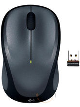 Logitech M235 Wireless Mouse (Grey/Black)