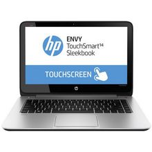 HP Envy TS 14-K012TX Laptop - Core i5 4th Gen-8GB-1TB-2GB Graphics-14 Inch-Win 8,  silver