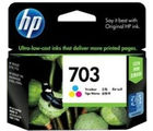 HP 703 Tricolor Ink Cartridge (Multicolor)