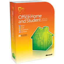 Microsoft Office Home and Student 2010 (64 Bit), multicolor