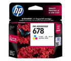 HP 678 Tri-color Ink Cartridge, multicolor