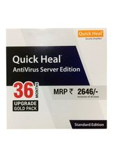 Quick Heal Sever Edition Standard Antivirus (1 PC/3 Years)