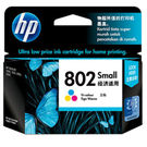 HP 802 Small Tricolor Ink Cartridge, multicolor