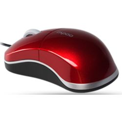 Rapoo N6000 Wired Optical Mouse,  black