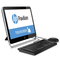 HP Pavilion 23-p010 23-Inch Touchscreen All in One Desktop, multicolor