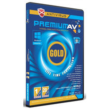 PremiumAV Anti Virus Gold 1 PC 20 Year, multicolor