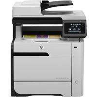 HP LaserJet Pro 300 color MFP M375nw,  white
