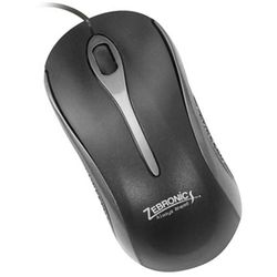 Zebronics Wired Mouse (Zeb-om118),  red