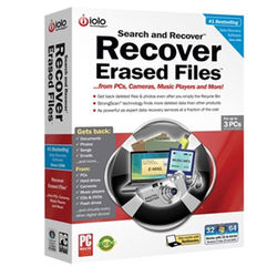 Iolo Search and Recover 1 PC 1 Year