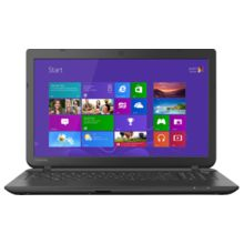 Toshiba C50B-P0010 Laptop (4th Gen Intel Pentium Quad Core Processor N3520/ 2GB RAM/ 500GB HDD),  black