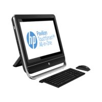 HP Pavilion TouchSmart 20-f201in All-in-One Desktop PC (ENERGY STAR) (H5Y55AA) (AMD Dual-Core E1-2500 APU/ 4GB RAM/ 500GB HDD/ Win8/ AMD Integrated Graphic),  black