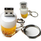 Microware Beer Mug Shape Designer Fancy Pendrive, standard-multicolor, 16 gb