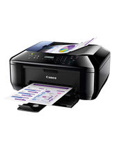 Canon Pixma E610 Multifunction Inkjet Printer, black, black