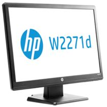 HP w2271d 21.5-inch Diagonal LED Monitor,  black